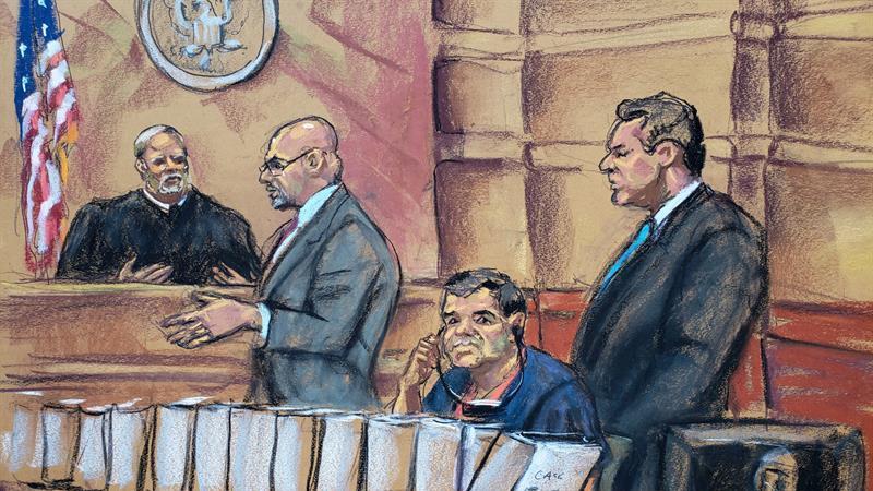 Así habló El Chapo Guzmán antes de ser sentenciado