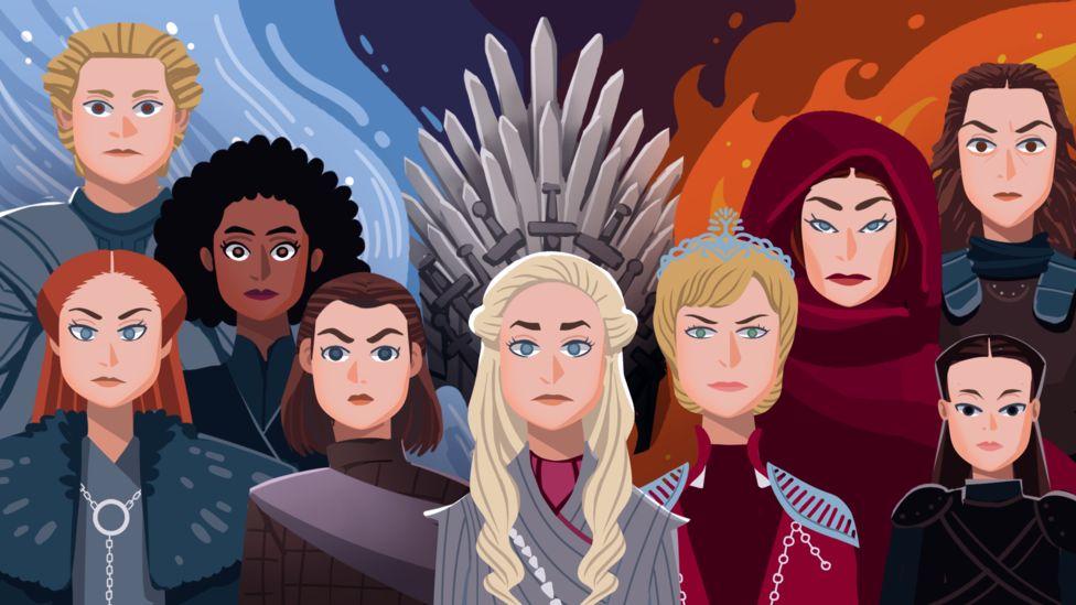 """""""Game of Thrones"""": cómo las mujeres se hicieron con el protagonismo en la popular serie de televisión"""