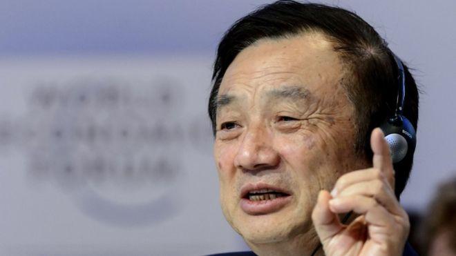 """El fundador de Huawei, Ren Zhengfei, dice que el gobierno de EE.UU. """"subestima"""" a la firma tecnológica china"""