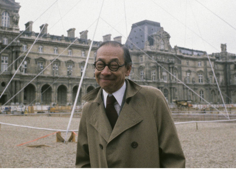 Muere a los 102 años Leoh Ming Pei, el arquitecto que diseñó la pirámide del Louvre