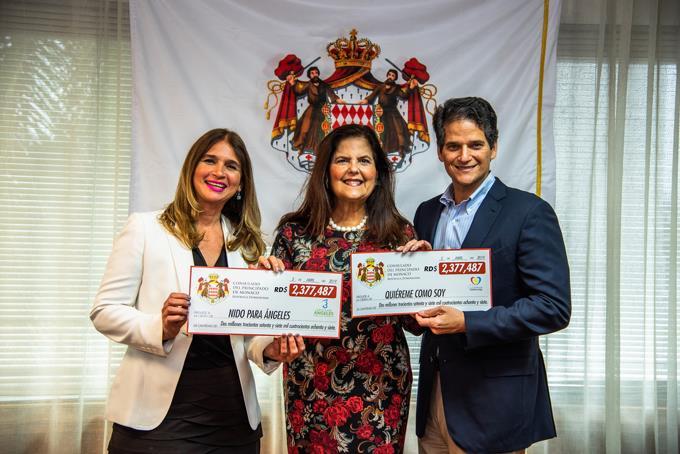 Consulado del principado de Mónaco entrega los beneficios de LAC.
