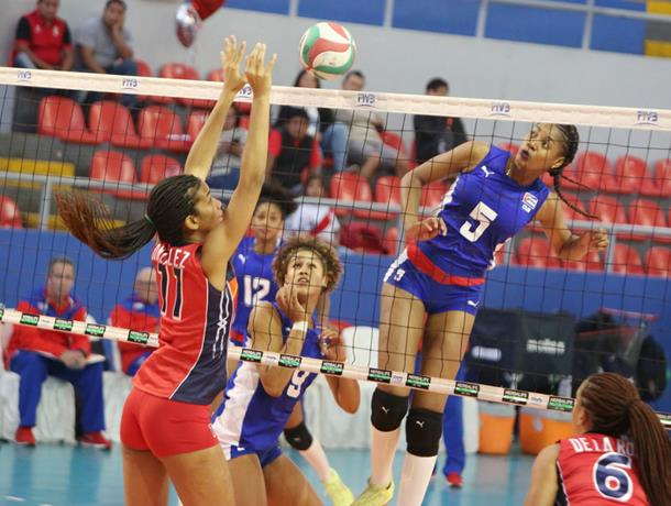 Reinas del Caribe vencen a Camerún en Copa Mundial Femenina de Voleibol FIVB