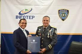 Infotep y PN acuerdan plan de capacitación para agentes