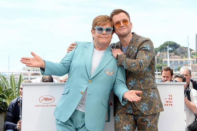 Elton John y otras estrellas del rock cuyas vidas han sido llevadas al cine