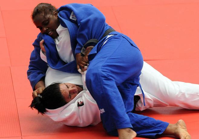Leidi Germán, una profesional en mercadeo que logra medallas como judoca, madre y esposa