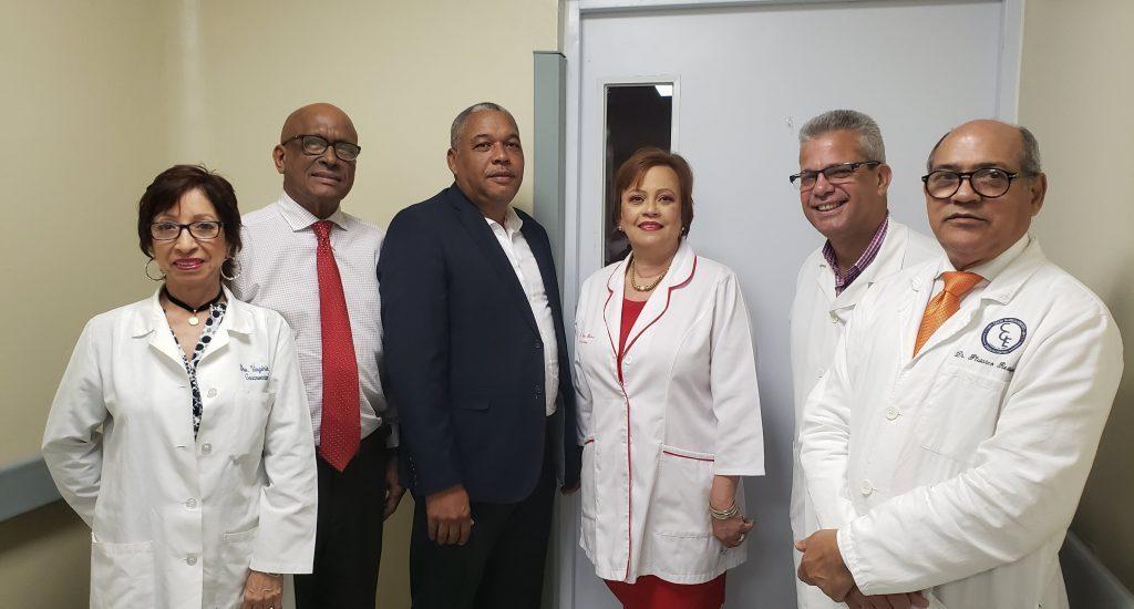 Designan área hospital Moscoso Puello con el nombre de la Dra Gianna Blanco