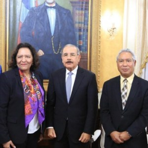 Presidente recibe a directora del Banco Mundial