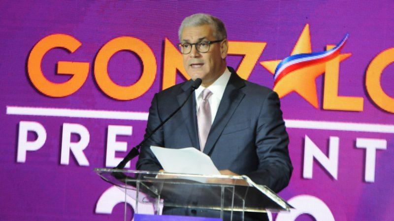 """Gonzalo Castillo: """"yo no creo ni me parece, voy a ser el candidato del PLD"""""""