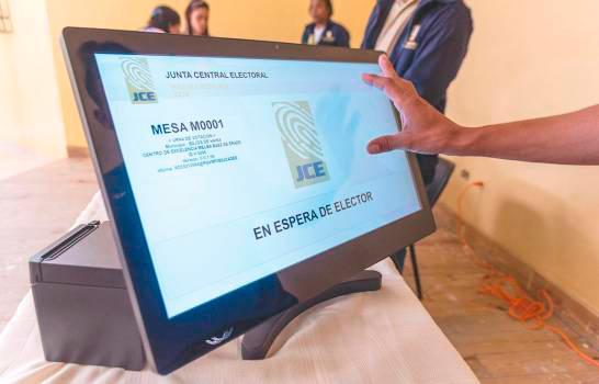 JCE hará este domingo simulacro parcial de elecciones