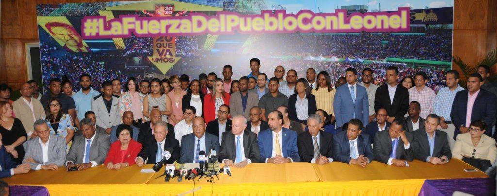 Sector de Leonel minimiza salida Gonzalo Castillo
