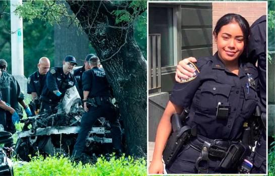 Dos oficiales de origen dominicano murieron quemados en accidente en autopista de Manhattan