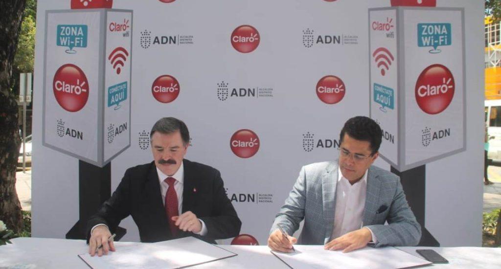 ADN y Claro ofrecen conectividad e internet gratuito en puntos de todo Santo Domingo