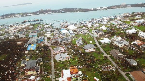 Suman 43 los muertos en Bahamas tras el paso del huracán Dorian