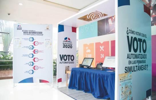 República Dominicana rumbo a sus primeras primarias simultáneas con voto automatizado