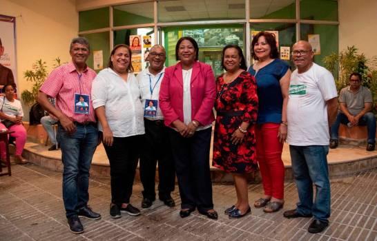Comisión Electoral del CDP anuncia Rossanna Figueroa ganó secretaría general en el Distrito