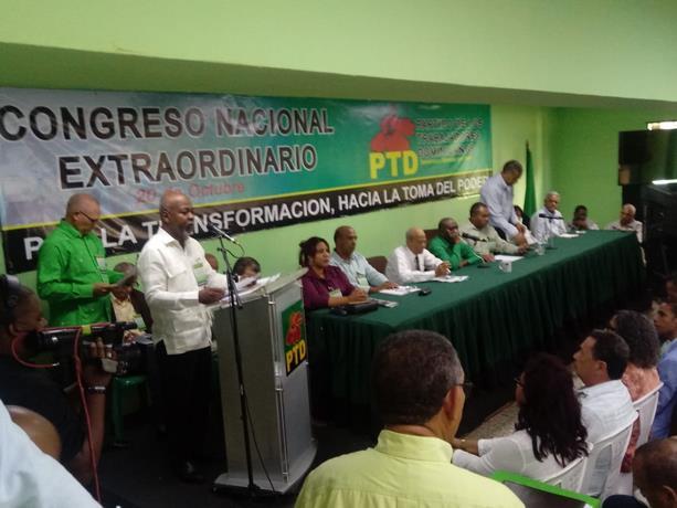 """El PTD se llamará """"La Fuerza del Pueblo"""" y llevará a Leonel como candidato"""
