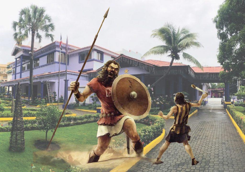 Como David a Goliat: Gonzalo derribó a Leonel