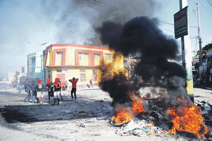 La cuarta semana de protestas en Haití