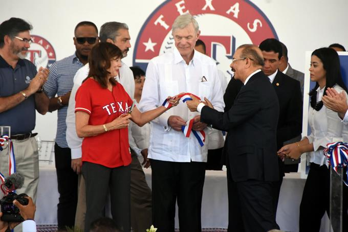 Texas tiene una casa nueva en Dominicana