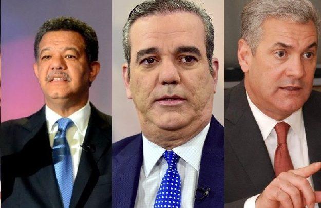 Arrecia disputa electoral entre PLD, PRM  y LFP