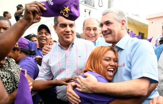 """Abinader, Gonzalo y Leonel siguen a todo vapor en """"apoyo a candidatos municipales"""""""