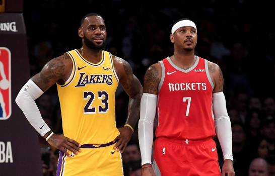Carmelo Anthony confiesa que casi se ahogó en el mar y LeBron James lo salvó