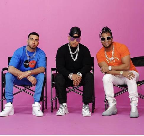 """Daddy Yankee graba junto a El Alfa y Justin Quiles el sencillo """"Pam"""""""