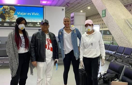 Tres voleibolistas más están a punto de llegar, tras estar varadas en México por el COVID-19