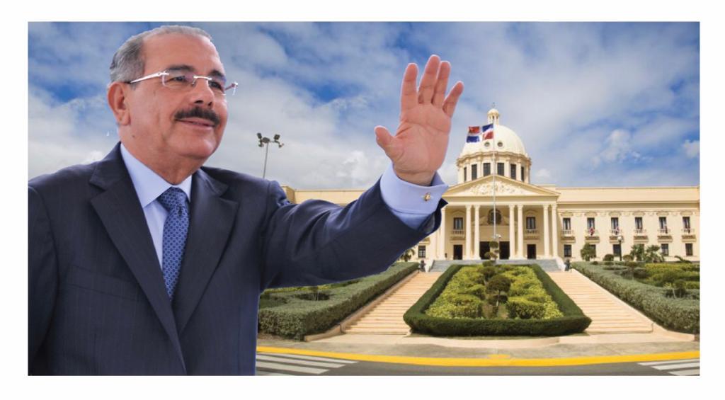 La humilde despedida de Danilo Medina