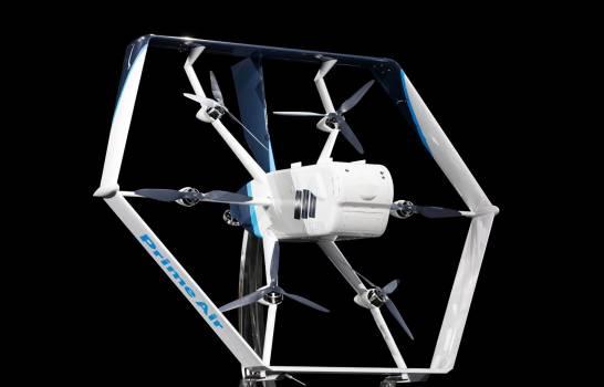 Amazon recibe permiso en Estados Unidos para empezar a entregar paquetes con drones