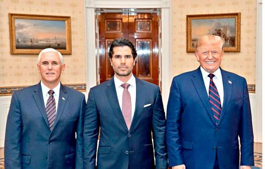 Actor mexicano Eduardo Verástegui nombrado por Trump asesor de asuntos hispanos