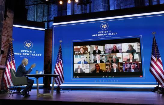 Biden inicia una transición sin asistencia de Trump
