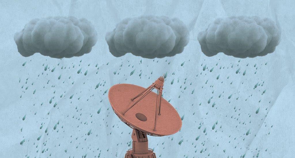 ¡No olvide su paraguas! Onamet pronostica aguaceros para hoy
