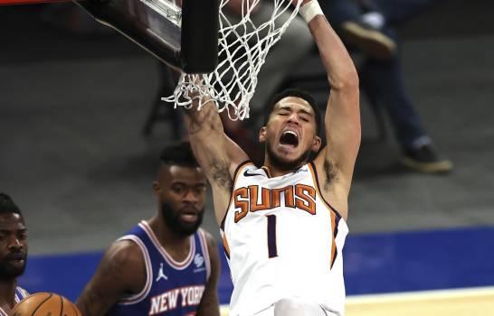 Suns superan a Knicks, termina su racha de nueve triunfos