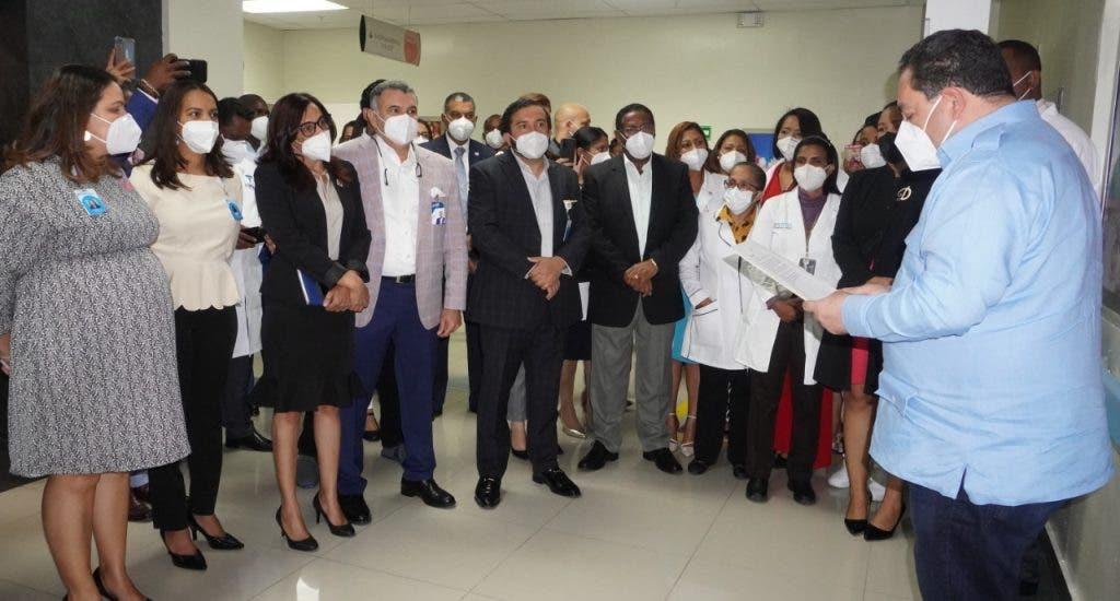 Hospital Materno Dr. Reynaldo Almánzar inaugura las Unidades de Neonatología y Cuidado Intensivo Neonatales.