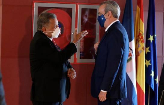 Presidente Luis Abinader llega a España