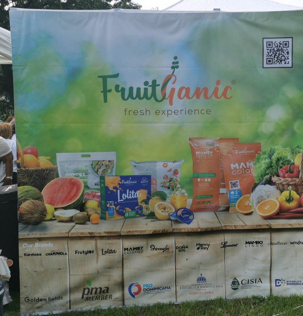 """FruitGanic lanza sus productos frutales en el """"Dominican Taste Festival 2021""""desde New York"""