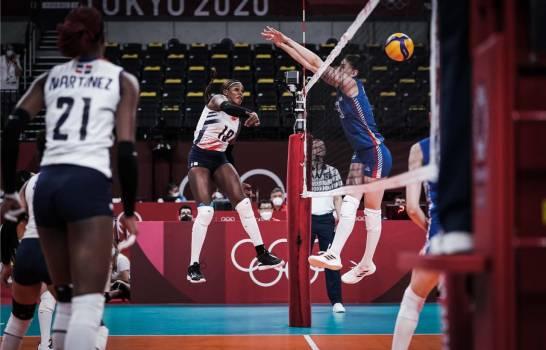 Serbia vence 3-0 a las Reinas del Caribe en el voleibol de Tokio 2020