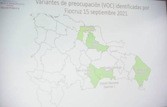 Variante delta fue identificada en cuatro demarcaciones del país