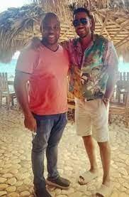 Romeo Santos, de paseo por Bahía de las Águilas